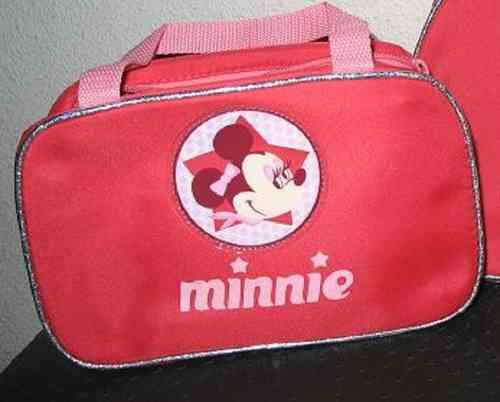 Disney Minnie Mouse handtas Glitter roze