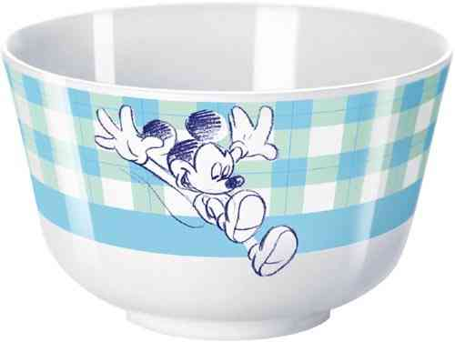 DisneyMickey Mouse Goodmorning Blue schaaltje