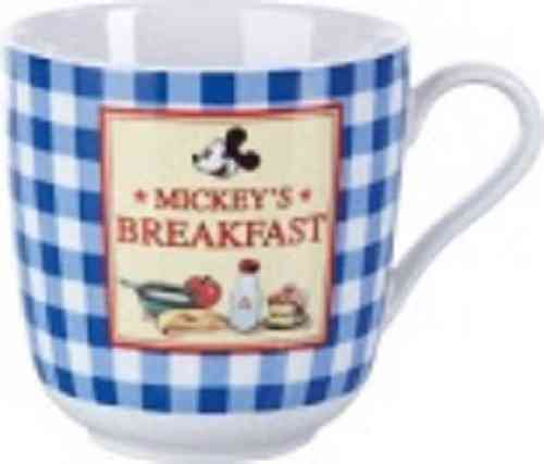 Disney Mickey Mouse Goodmorning Blue beker