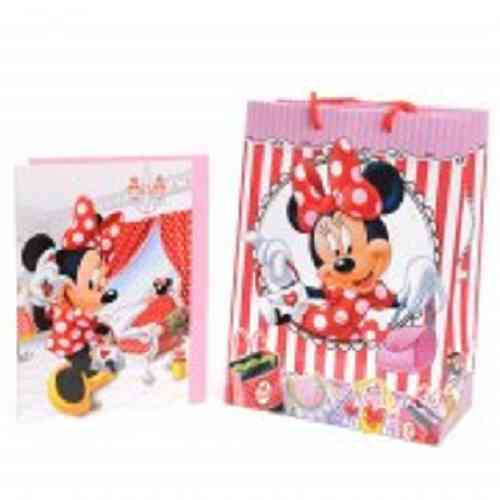 Disney Minnie Mouse kadotas en kaart
