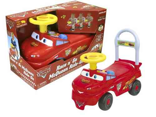 Disney Cars Mc Queen Ride On loopwagen