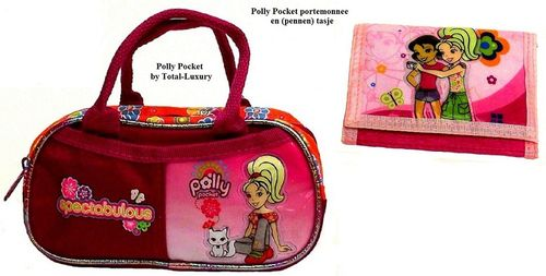 Polly Pocket 2-delige set tasje en portemonnee Spectabulous
