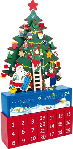 Adventskalender O, Dennenboom ! XXL