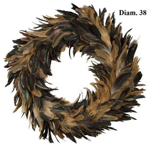 Krans hanenveren decoratiekrans D.38