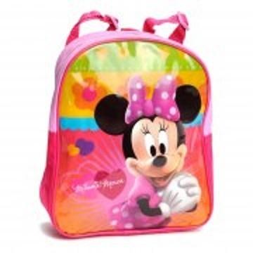 Disney Minnie Mouse rugtas roze