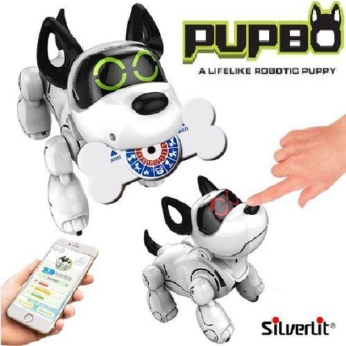 Robotpuppy Pupbo met Smartbone; train mijn pup ! Wordt deze week verwacht!