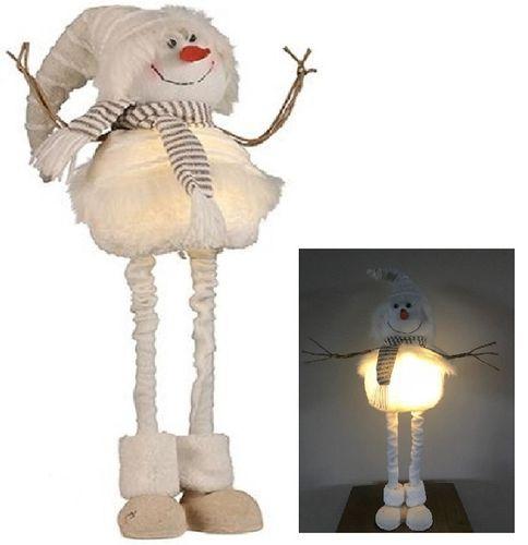 Sneeuwpop Poppy LED, decoratieve sneeuwman H.71