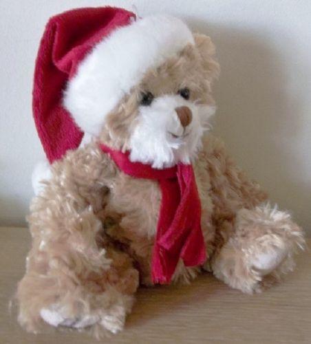 Bukowski kerstbeer Tomtenisse teddybeer snoetje wit