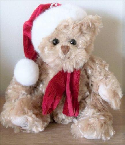 Bukowski kerstbeer Tomtenisse teddybeer snoetje bruin
