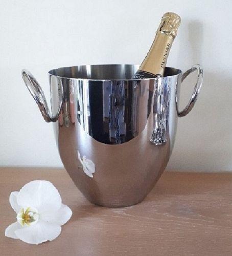 Wijnkoeler champagnekoeler met ringhandvat