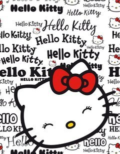 Hello Kitty fleece deken Magazine
