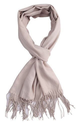 Sjaal Uni beige