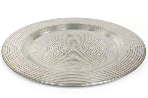 Schaal ruw robuust aluminium Diam.69