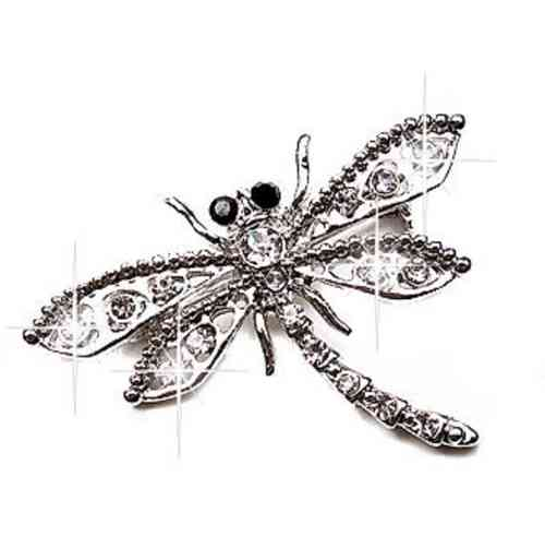Shawlspeld broche Libel Dragon Fly