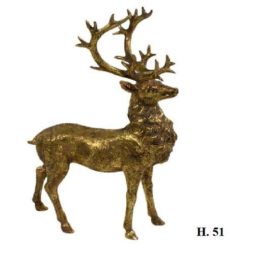 Beeld Hert Gold H.51