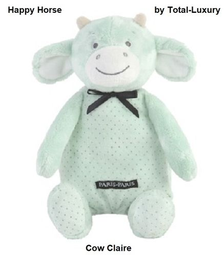 Happy Horse knuffel Koe Claire mint H.30
