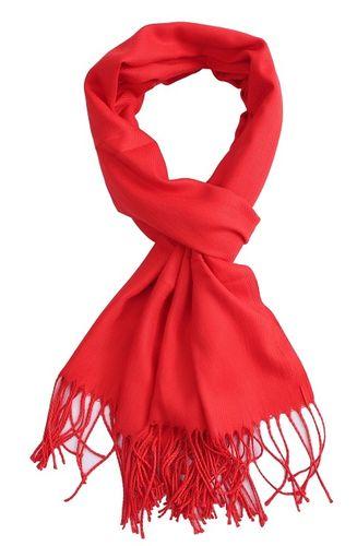 Sjaal Uni rood