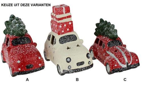 Kerstauto LED VW Kever keuze uit 3 varianten