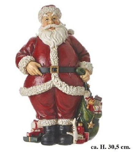 Kerstman kerstdecoratie H. 30,5