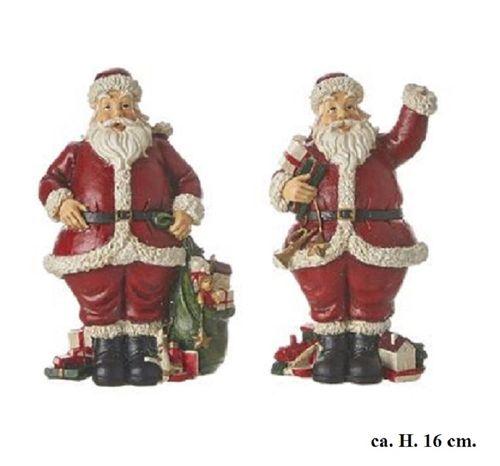 Kerstman kerstdecoratie set/2