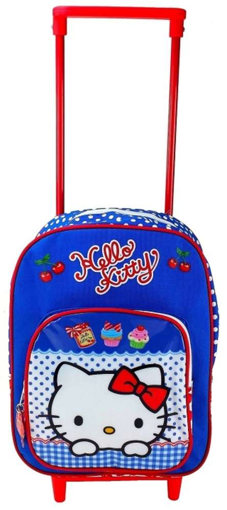 Hello Kitty rugtas c.q. trolleykoffertje Cupcakes
