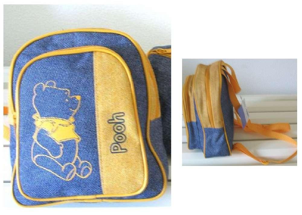 Disney Winnie de Poeh rugtasje jeans Total Luxury.nl