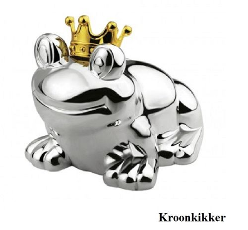 Spaarpot Kikker met kroon large